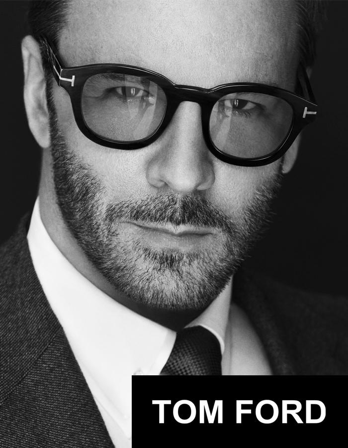 Featured Designer Eyewear: Tom Ford